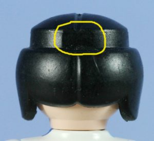 Playmobil,REPLACEMENT HAIR w HEADS,ITEM #P38,LOT OF 12